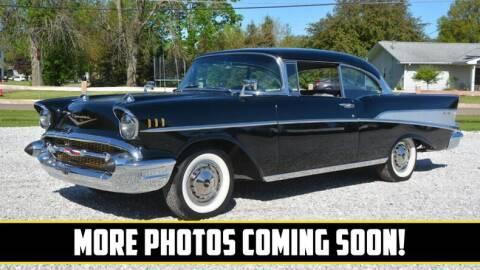 1957 Chevrolet Bel Air for sale at UNIQUE SPECIALTY & CLASSICS in Mankato MN