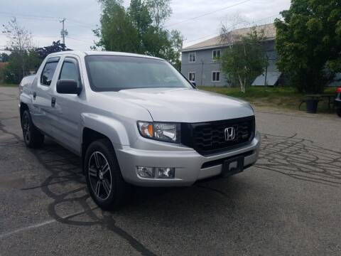 2012 Honda Ridgeline for sale at Fairway Auto Sales in Rochester NH