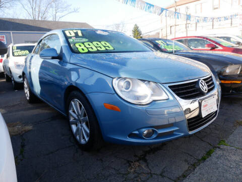 2007 Volkswagen Eos for sale at M & R Auto Sales INC. in North Plainfield NJ