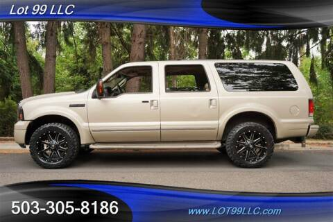 2005 Ford Excursion for sale at LOT 99 LLC in Milwaukie OR