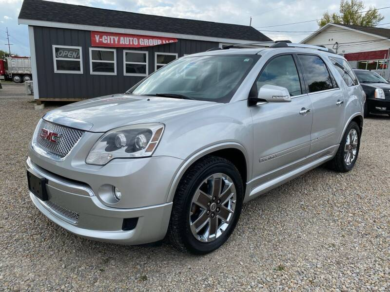 2012 GMC Acadia for sale at Y City Auto Group in Zanesville OH