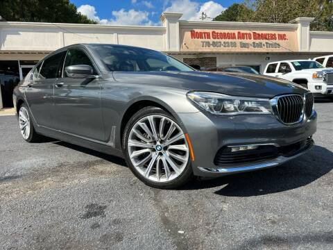 2016 BMW 7 Series for sale at North Georgia Auto Brokers in Snellville GA