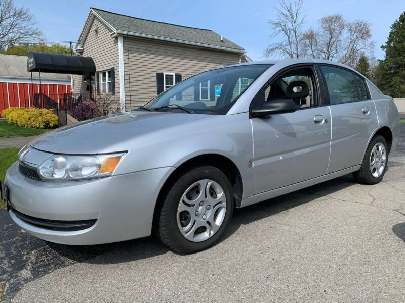 2004 Saturn Ion for sale at Tomasello Truck & Auto Sales, Service in Buffalo NY
