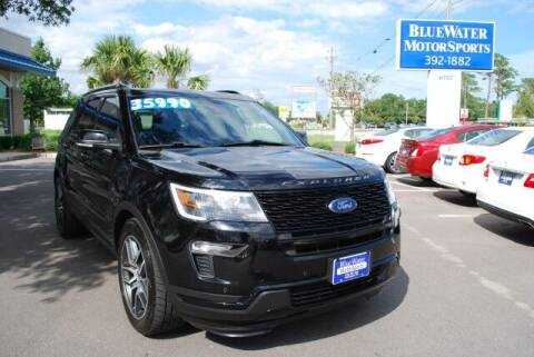 2018 Ford Explorer for sale at BlueWater MotorSports in Wilmington NC