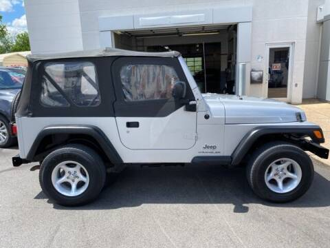 2003 Jeep Wrangler for sale at Bill Gatton Used Cars - BILL GATTON ACURA MAZDA in Johnson City TN
