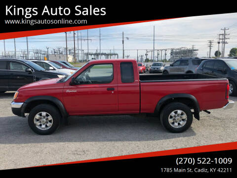 2000 Nissan Frontier for sale at Kings Auto Sales in Cadiz KY