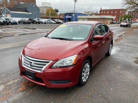 2015 Nissan Sentra for sale at Midtown Autoworld LLC in Herkimer NY