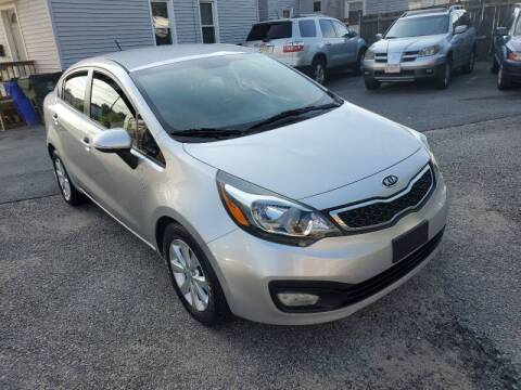2012 Kia Rio for sale at Fortier's Auto Sales & Svc in Fall River MA