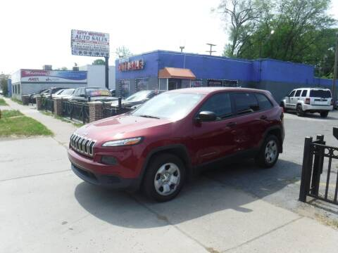 2014 Jeep Cherokee for sale at City Motors Auto Sale LLC in Redford MI