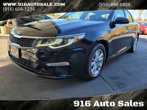 2019 Kia Optima for sale at 916 Auto Sales in Sacramento CA