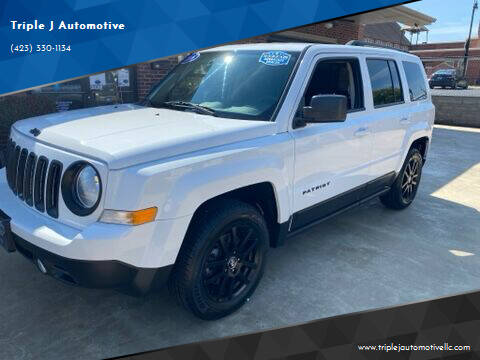 2016 Jeep Patriot for sale at Triple J Automotive in Erwin TN
