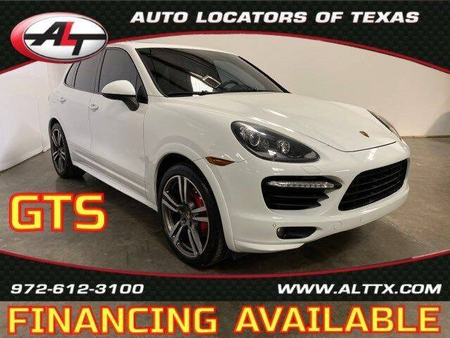 2014 Porsche Cayenne for sale at AUTO LOCATORS OF TEXAS in Plano TX