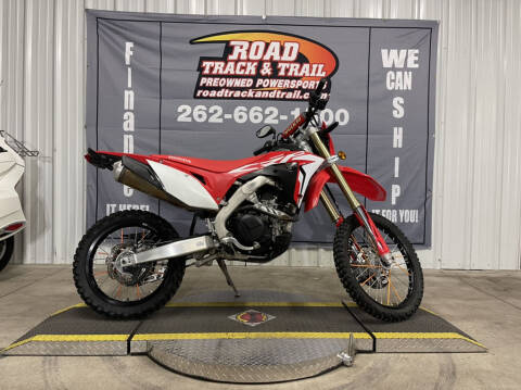 2019 Honda CRF450L for sale at Road Track and Trail in Big Bend WI