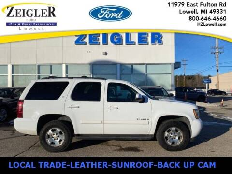 2009 Chevrolet Tahoe for sale at Zeigler Ford of Plainwell- Jeff Bishop in Plainwell MI