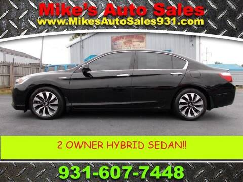 2015 Honda Accord Hybrid for sale at Mike's Auto Sales in Shelbyville TN