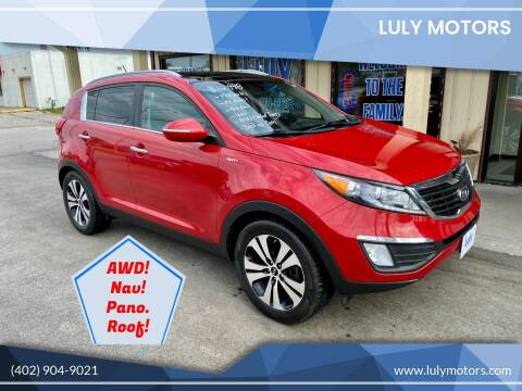 2012 Kia Sportage for sale at Luly Motors in Lincoln NE