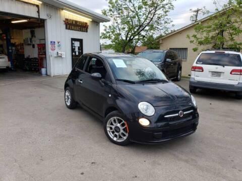 2012 FIAT 500 for sale at Bad Credit Call Fadi in Dallas TX