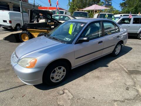 2001 Honda Civic for sale at White River Auto Sales in New Rochelle NY
