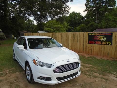 2014 Ford Fusion for sale at Hot Deals Auto LLC in Rock Hill SC