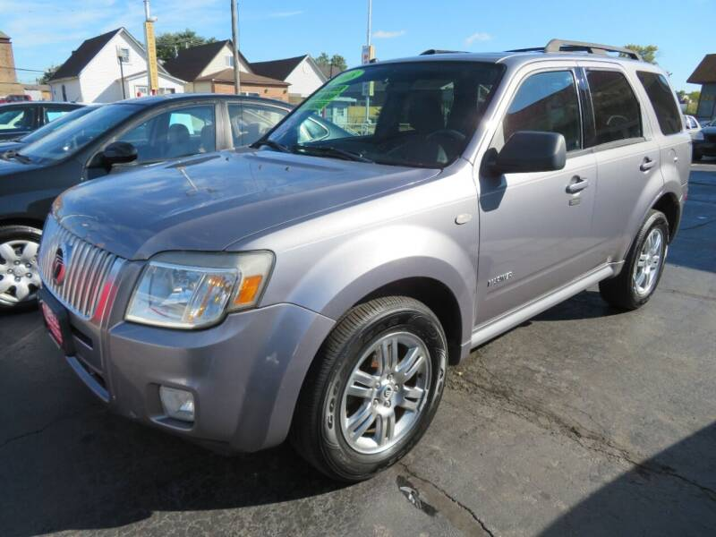 2008 Mercury Mariner for sale at Bells Auto Sales in Hammond IN