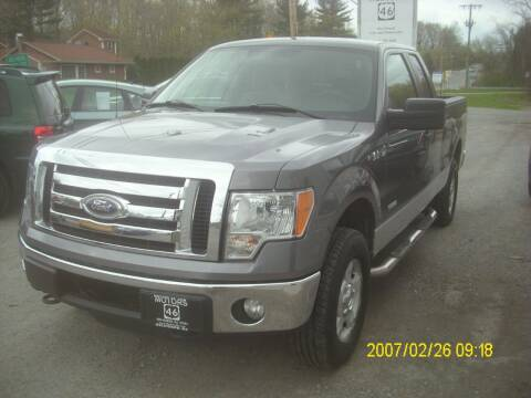 2012 Ford F-150 for sale at Motors 46 in Belvidere NJ