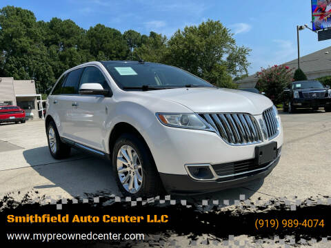 2015 Lincoln MKX for sale at Smithfield Auto Center LLC in Smithfield NC