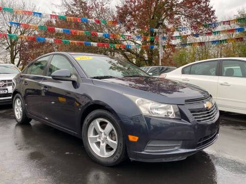 2013 Chevrolet Cruze for sale at WOLF'S ELITE AUTOS in Wilmington DE