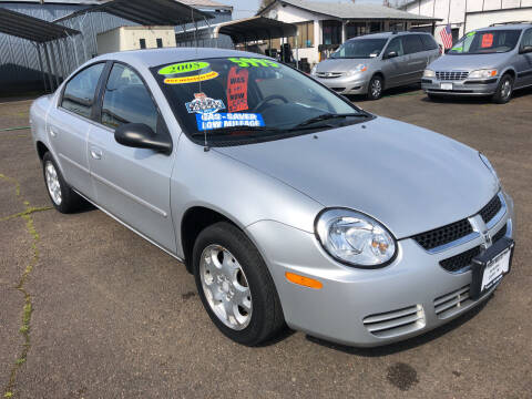 2005 Dodge Neon for sale at Freeborn Motors in Lafayette, OR