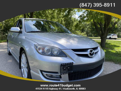 2007 Mazda MAZDASPEED3 for sale at Route 41 Budget Auto in Wadsworth IL