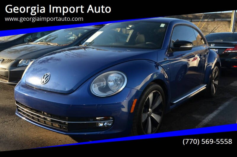 2012 Volkswagen Beetle for sale at Georgia Import Auto in Alpharetta GA