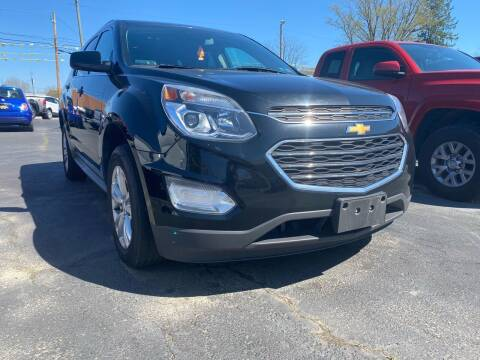 2017 Chevrolet Equinox for sale at Auto Exchange in The Plains OH