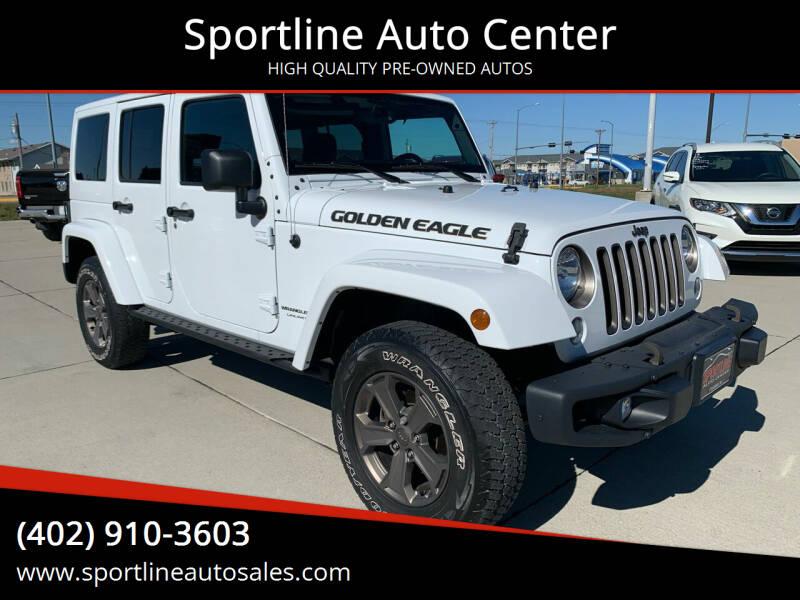 2018 Jeep Wrangler JK Unlimited for sale at Sportline Auto Center in Columbus NE