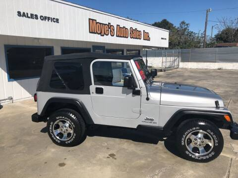 2004 Jeep Wrangler for sale at Moye's Auto Sales Inc. in Leesburg FL