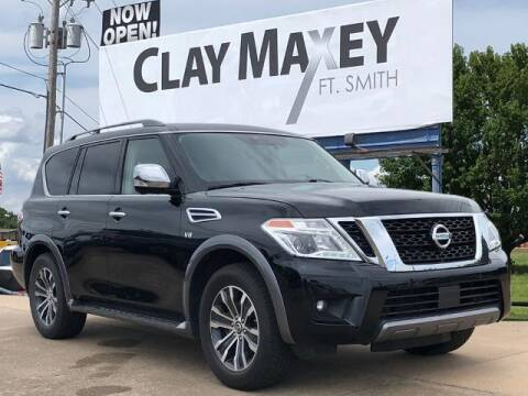 2020 Nissan Armada for sale at Clay Maxey Fort Smith in Fort Smith AR
