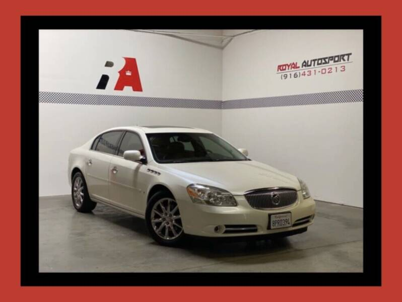 2008 Buick Lucerne for sale at Royal AutoSport in Sacramento CA