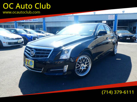 2013 Cadillac ATS for sale at OC Auto Club in Midway City CA