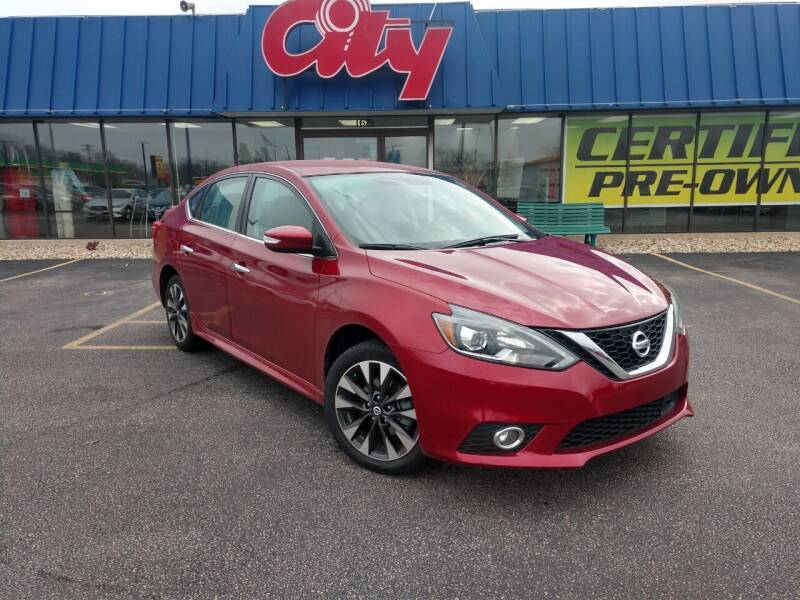 2019 Nissan Sentra for sale at CITY SELECT MOTORS in Galesburg IL