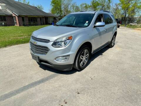 2017 Chevrolet Equinox for sale at RODRIGUEZ MOTORS CO. in Houston TX