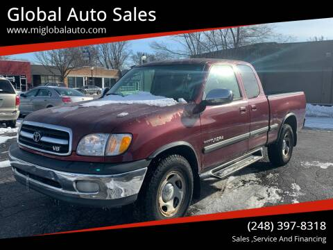 2001 Toyota Tundra for sale at Global Auto Sales in Hazel Park MI