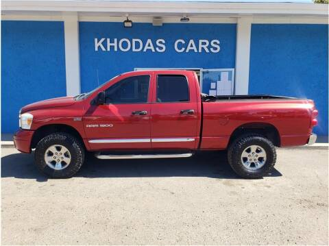 2007 Dodge Ram Pickup 1500 for sale at Khodas Cars in Gilroy CA