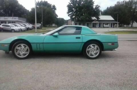 1990 Chevrolet Corvette for sale at BRETT SPAULDING SALES in Onawa IA