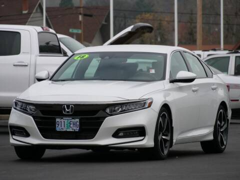 2018 Honda Accord for sale at CLINT NEWELL USED CARS in Roseburg OR