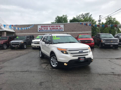 2013 Ford Explorer for sale at Brothers Auto Group in Youngstown OH