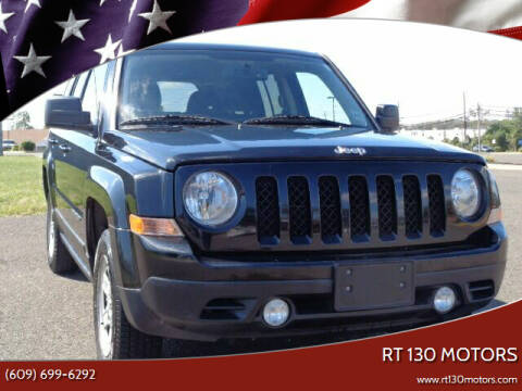 2016 Jeep Patriot for sale at RT 130 Motors in Burlington NJ