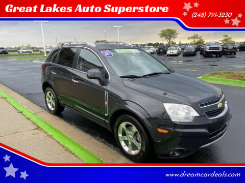 2013 Chevrolet Captiva Sport for sale at Great Lakes Auto Superstore in Waterford Township MI