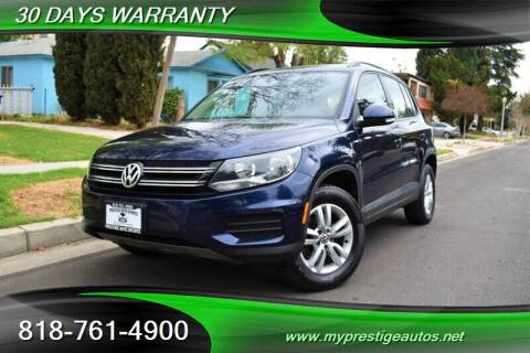 2015 Volkswagen Tiguan for sale at Prestige Auto Sports Inc in North Hollywood CA