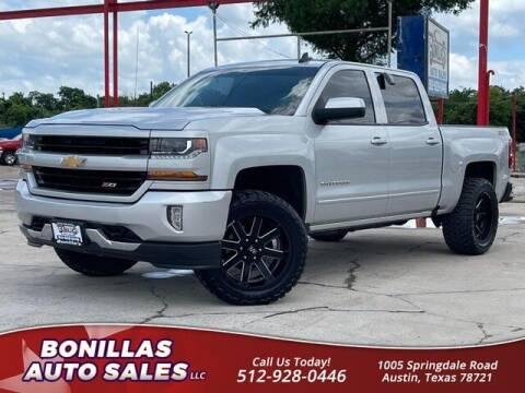 2017 Chevrolet Silverado 1500 for sale at Bonillas Auto Sales in Austin TX