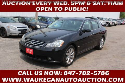 2007 Infiniti M35 for sale at Waukegan Auto Auction in Waukegan IL