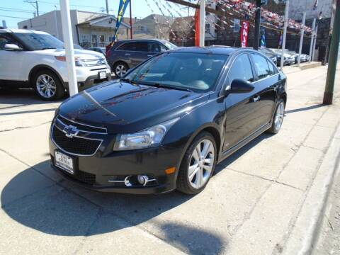 2014 Chevrolet Cruze for sale at CAR CENTER INC in Chicago IL
