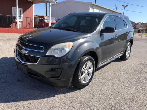 2013 Chevrolet Equinox for sale at Decatur 107 S Hwy 287 in Decatur TX